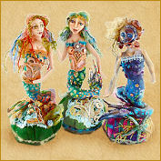 mermaid pincushion