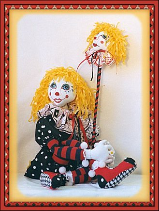 Laughing on the Outside, a doll by Patti LaValley