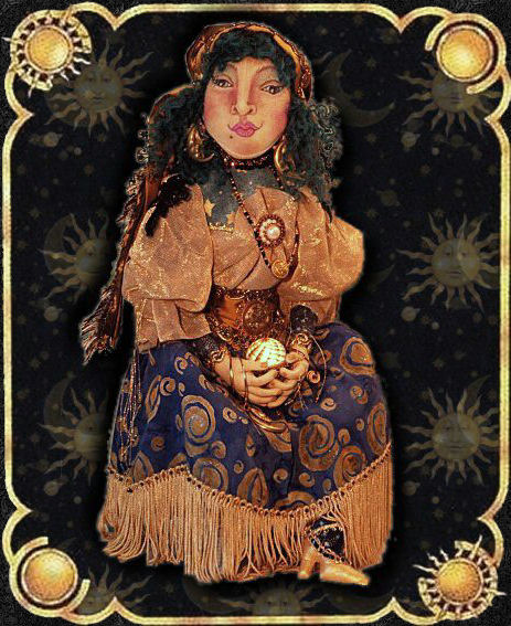 original Madame Mystique, a doll by Patti LaValley