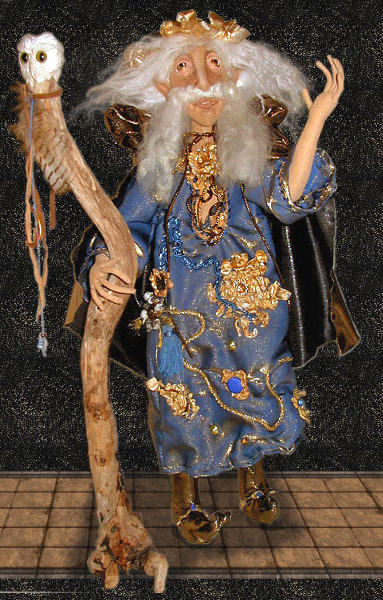 Majeck, a doll by Patti LaValley