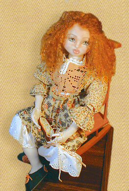 Angie, a doll by Patti LaValley