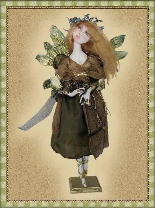 Earth Angel, a doll by Patti LaValley