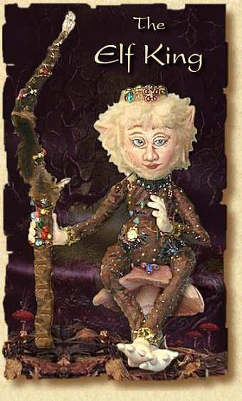 The Elf King, a doll by Patti LaValley
