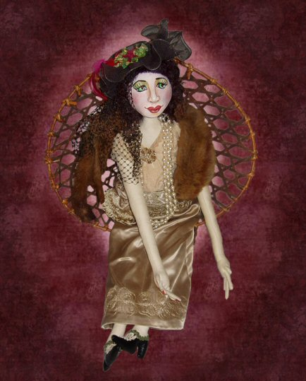 Josephine, a doll by Patti LaValley